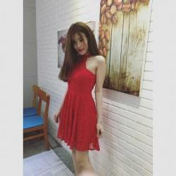 Short lace dress 102