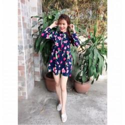 Đầm lua hoa