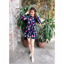 Flower patterned dress