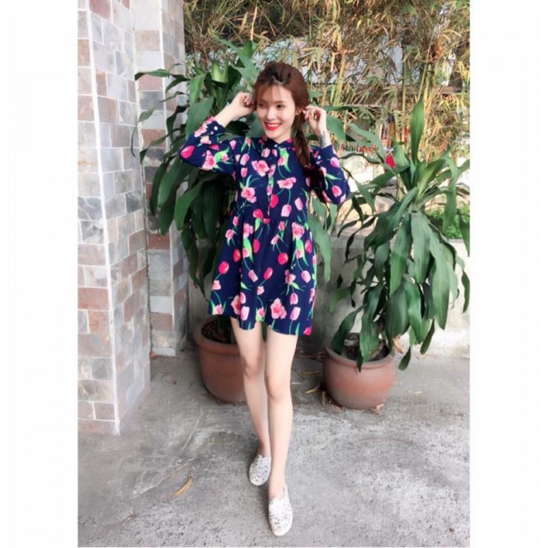 Đầm lua hoa 108