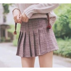 Plaid skirt 1101