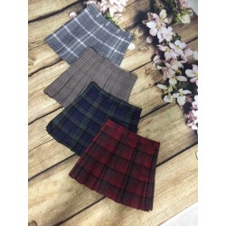 Plaid skirt 1104