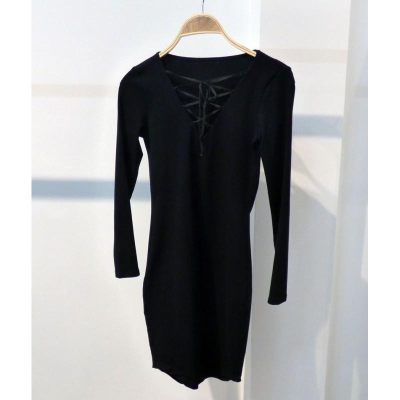 Đầm body ngàn cột dây 1270