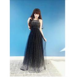 Black long dress 128