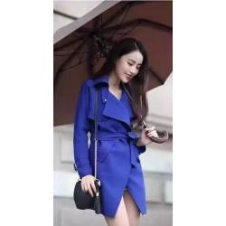 Áo khoác vest xanh