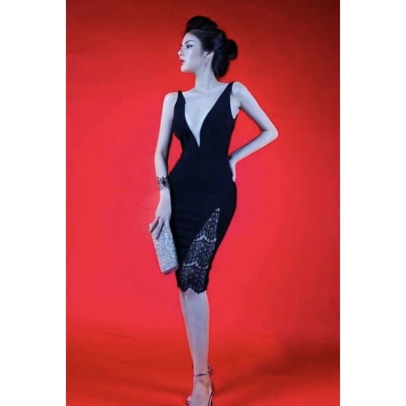 Đầm body ren sexy 356