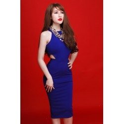 Blue dress 366
