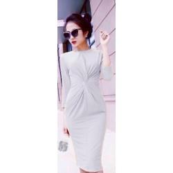 Pleated dress 454