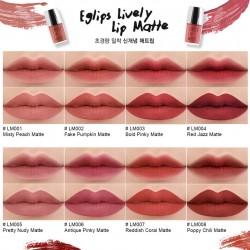 Couleurs Rouge à lèvres Eglips Lively Lip Matte